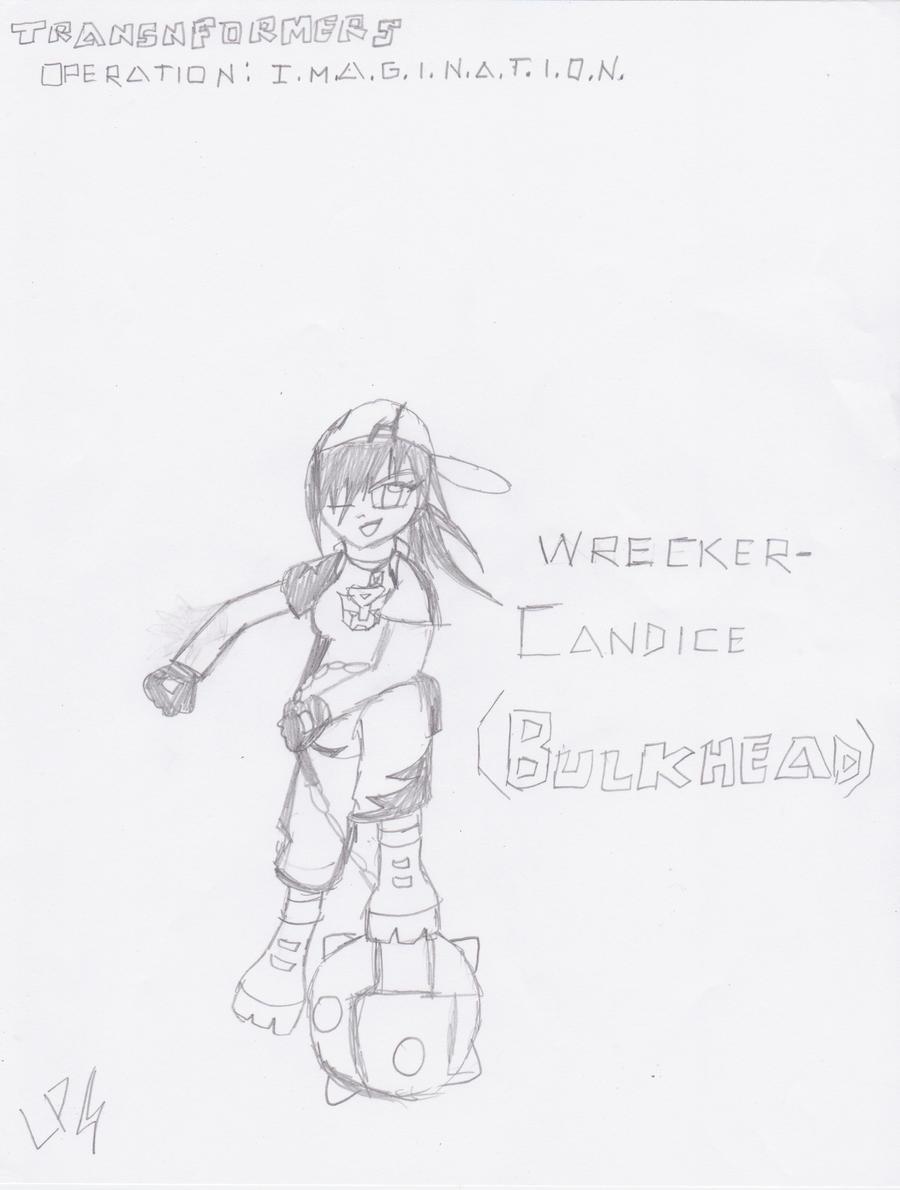 Wrecker Candice: Bulkhead by ToniMizukiPrime