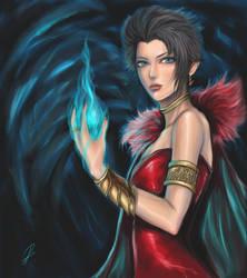 Witch OC 2 by chrysti1990