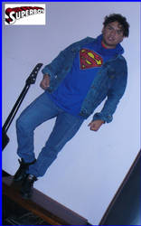Super Superboy by eriksuperboy