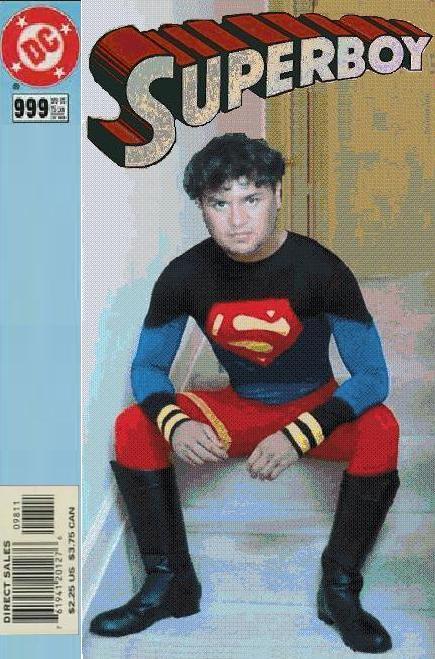 Andrew Superboy 999 by eriksuperboy