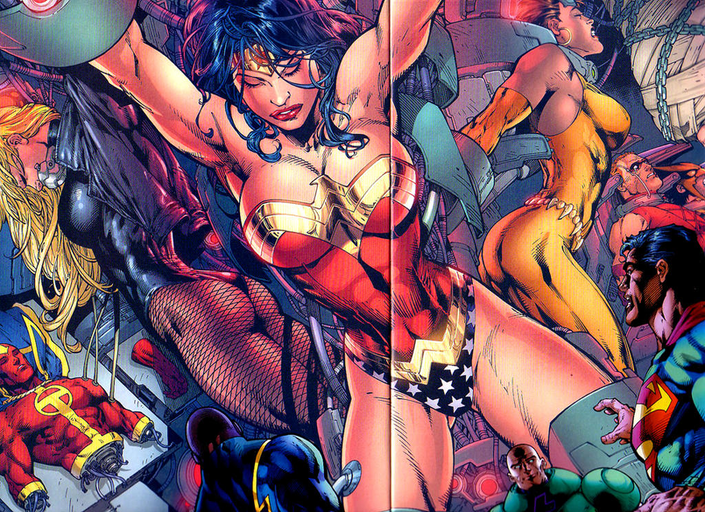 Секс супергероев dc видео