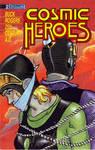 Cosmic Heroes 2 comic Wilma Deering gagged