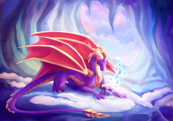 Spyro ~ Let me teach you magic ~ by Lord-StarryFace