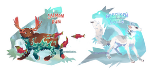Kebanzu Auction - Salmon Run + Northern Lights