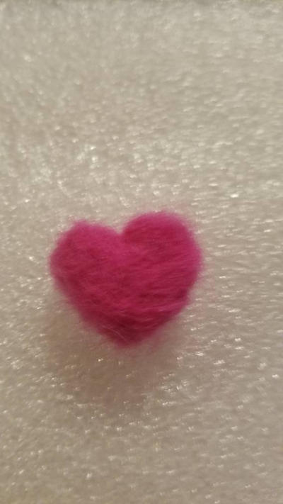 Felted Heart by MalifauxWriter