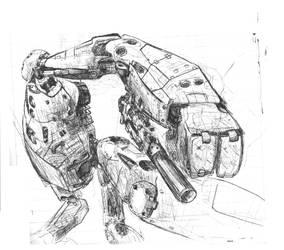 Mecha-robot by maki9791