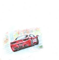 Ferrari 458 by maki9791