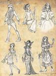 Sarah Williams: outfit study