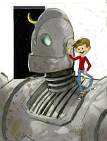 iron giant color by digital-alero