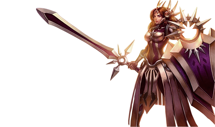 renders League Of Legend  Leona_classic_by_warriorpredator-d4pt1xx