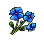 Item - Forest Flower Blue by DarkHansol