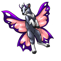 Butterfly - Pink by DarkHansol