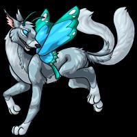 Fennimage666 - Silver butterfly by DarkHansol