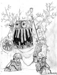 Tree Golem by WEREsandrock