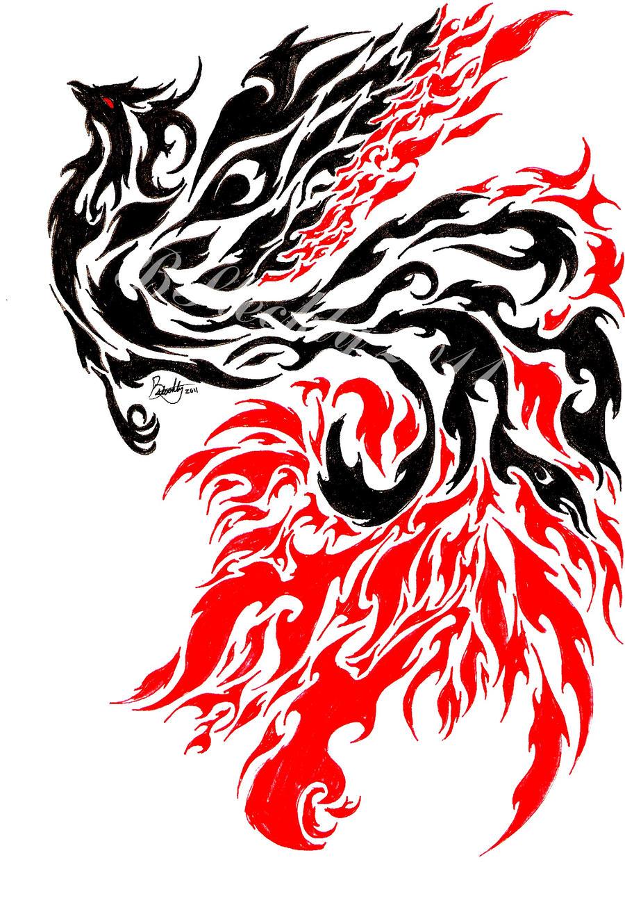 phoenix tattoo designs for