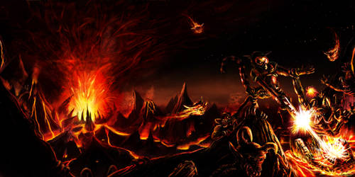 Hell Surfacing by FirebornForm
