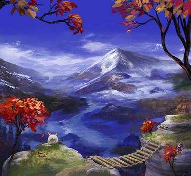 Mountains 're Nice by FirebornForm
