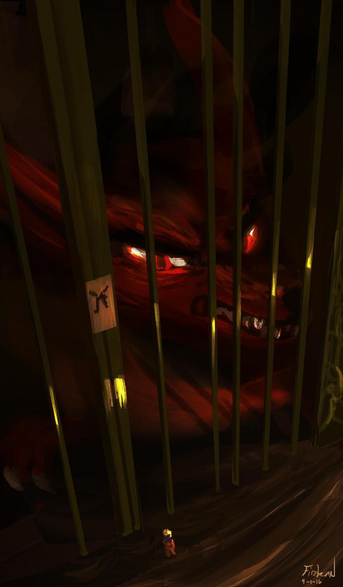 9-1-16 Demon Fox by FirebornForm
