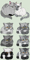 Silver Shades Adoptables: Closed by RollDown