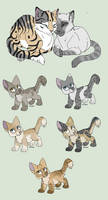 Closed Berry Bash Adoptables by RollDown