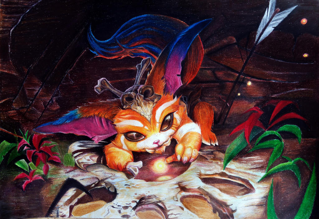 League of Legends - Gnar drawing by SzokeNora on DeviantArt
