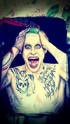 Jared Leto Joker by SzokeNora