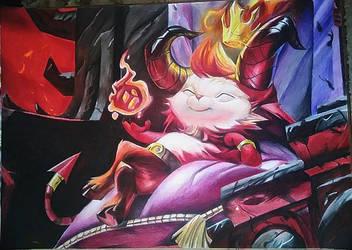 League of Legends - Devil Teemo by SzokeNora