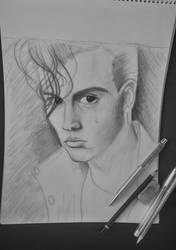 Johnny Depp by SzokeNora