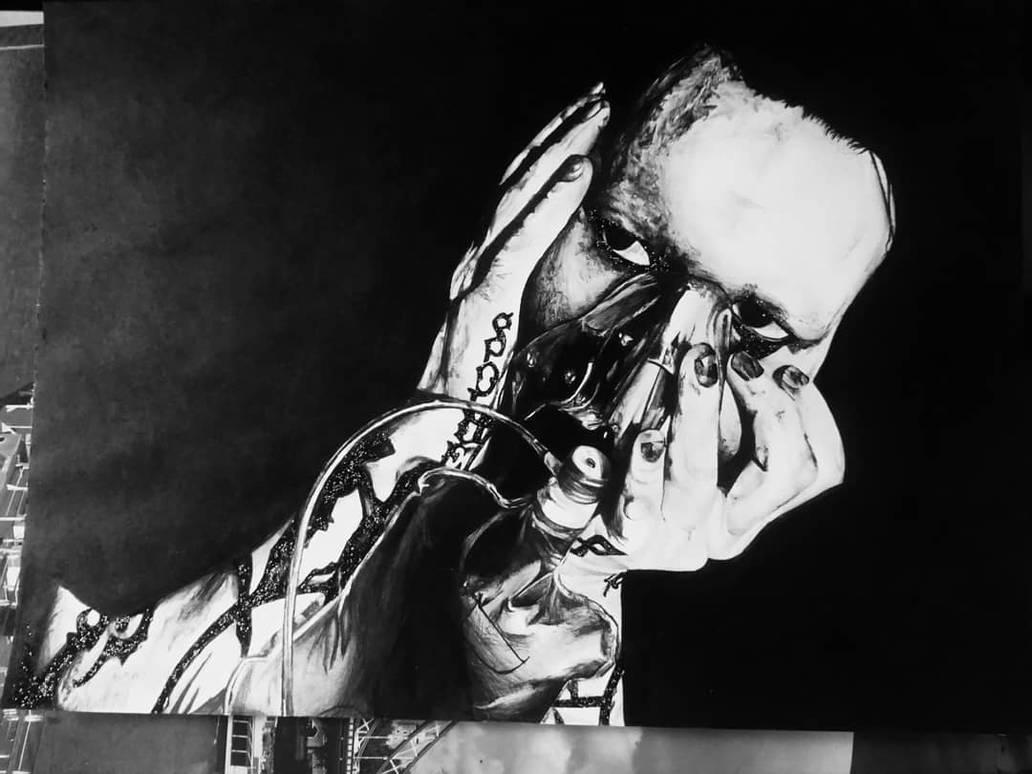 Marilyn Manson portrait by SzokeNora