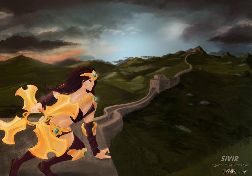 Sivir from League of legends by Mayaneku