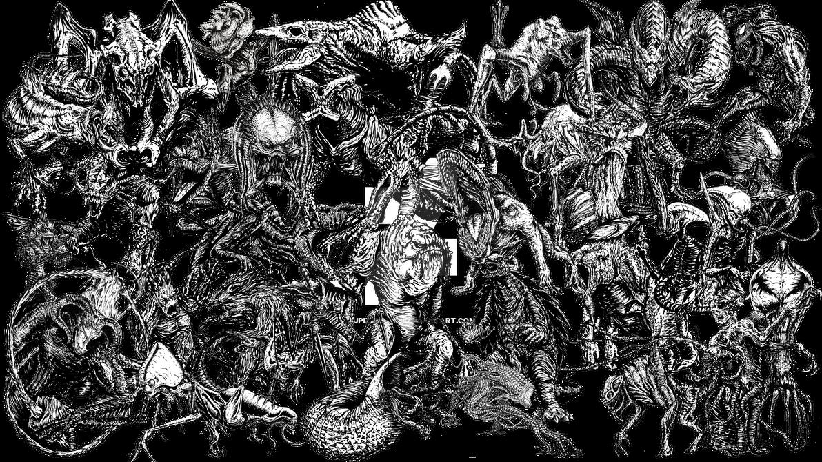 Movie monsters by jpizzle6298