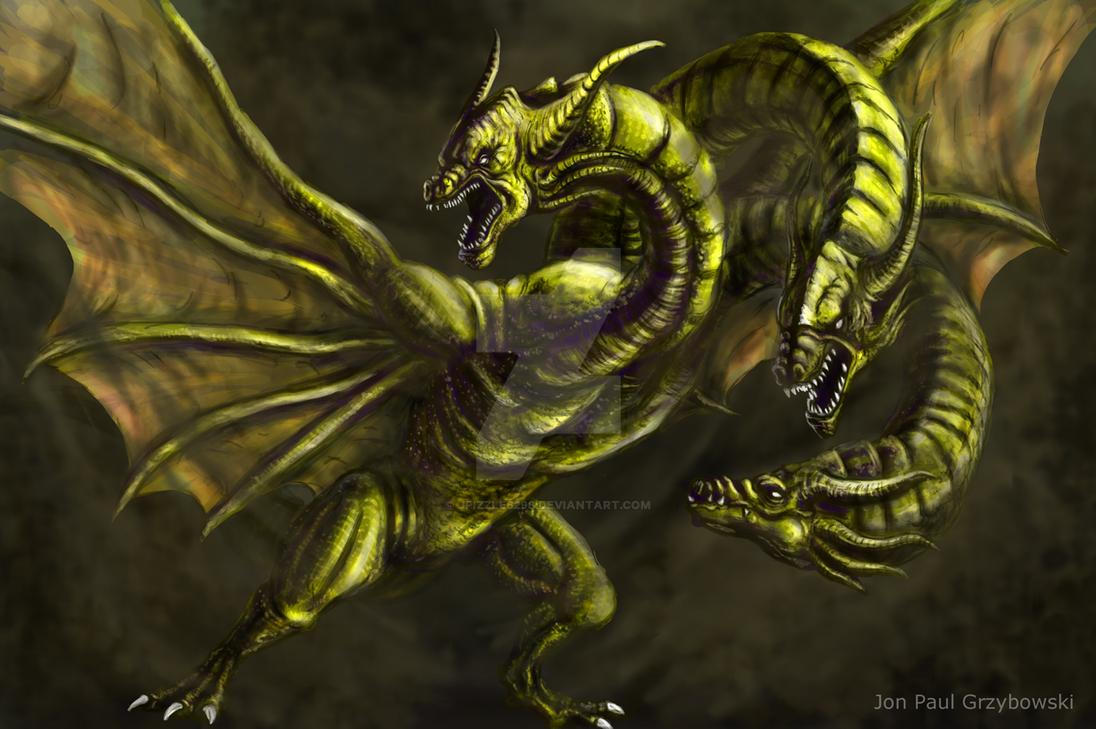 King Ghidorah by jpizzle6298