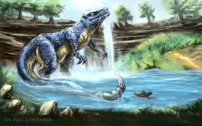 Gorosaurus Conceptart