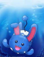 Underwater Azumarill by MokaSooN