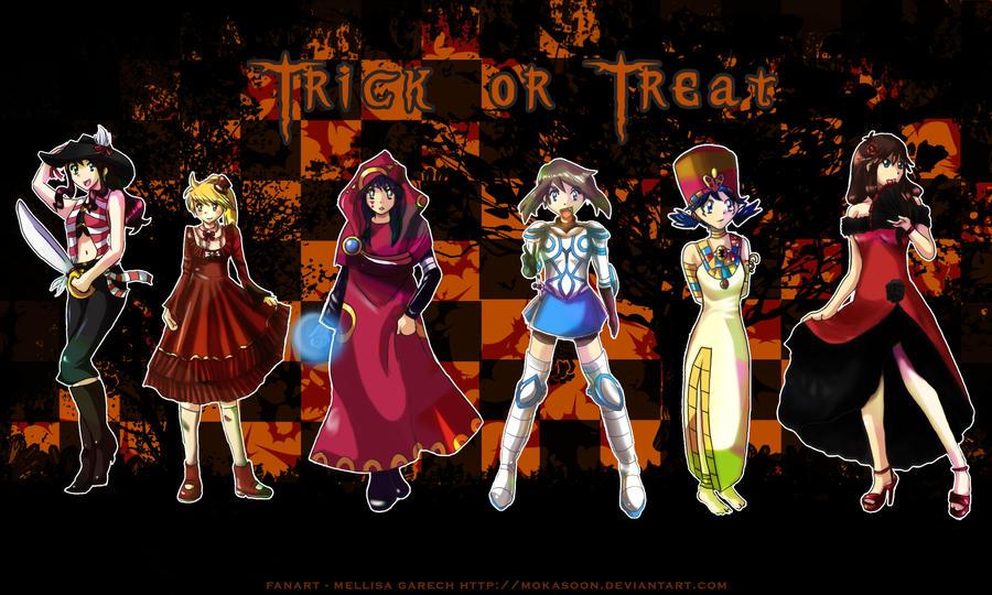 halloween 2011 xd by MokaSooN