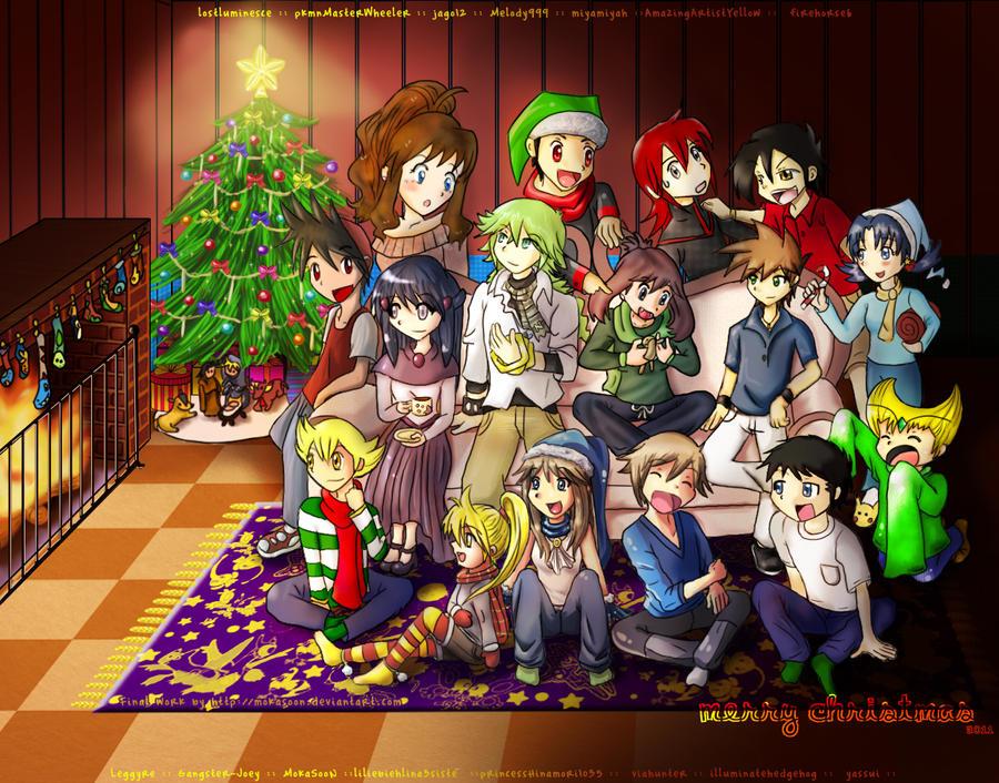 Pokemon Special X-mas Collab Final version 2011 by MokaSooN