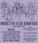 [P2U BASE] Humanoid Demon DELUXE