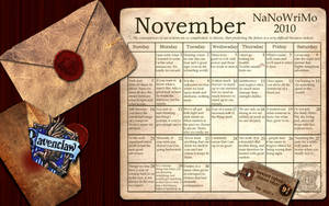 Ravenclaw NaNoWriMo Wallpaper by simply