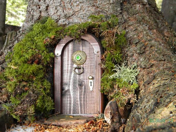 Magical door by forestdwellerhouses on deviantart for The magic fairy door