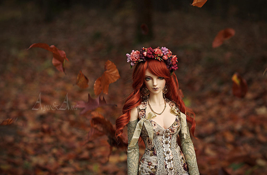 Walking Autumn by AyuAna
