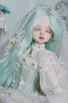 Frozen Rose portrait