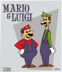 Mario and Luigi by srlucha