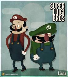 Super Luigi Bros by srlucha