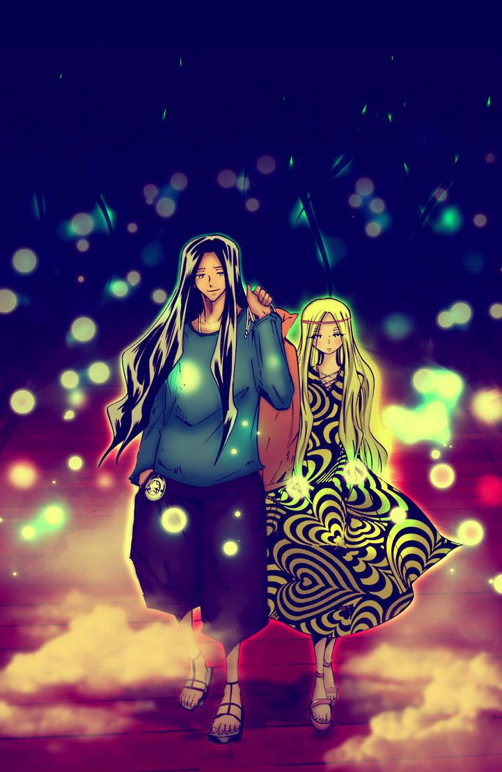 Yoh and Anna by yahya12
