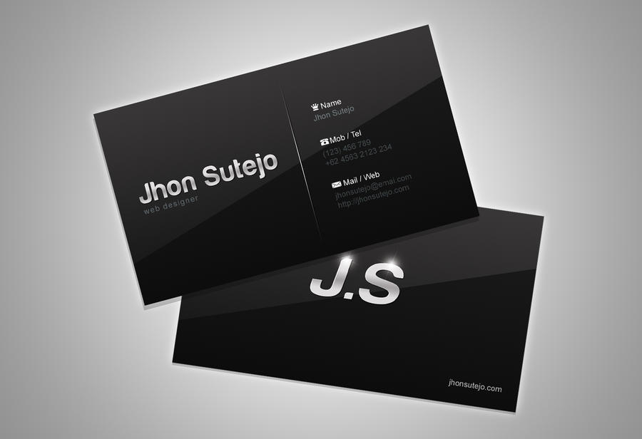 freebie: elegant Business Card by ~yahya12