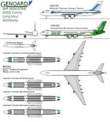 Genoard G450-400, Airliner