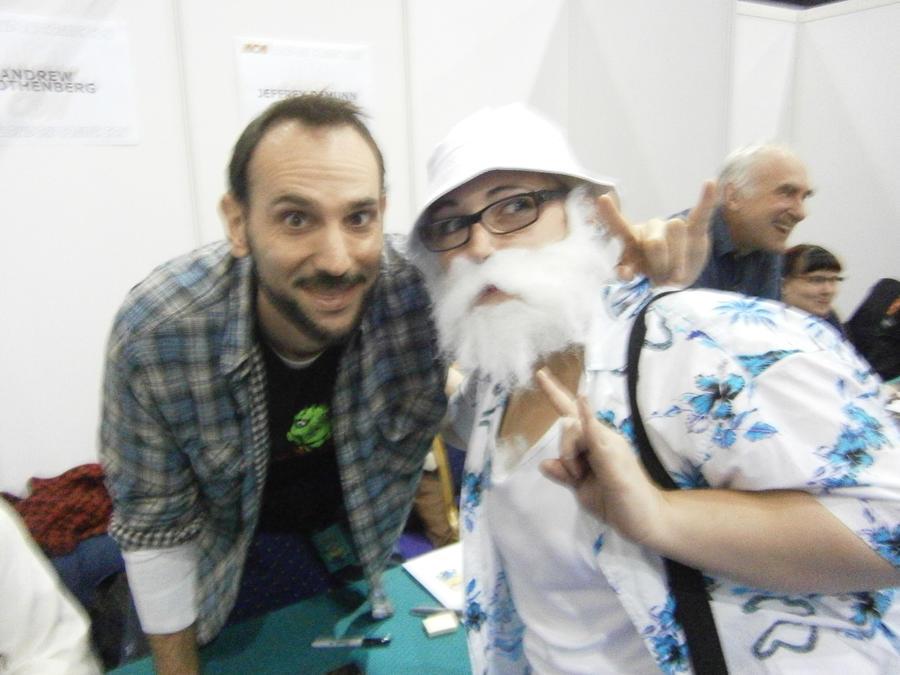 Andrew Rothenberg and Me by JigsawLovesPancakes on DeviantArt