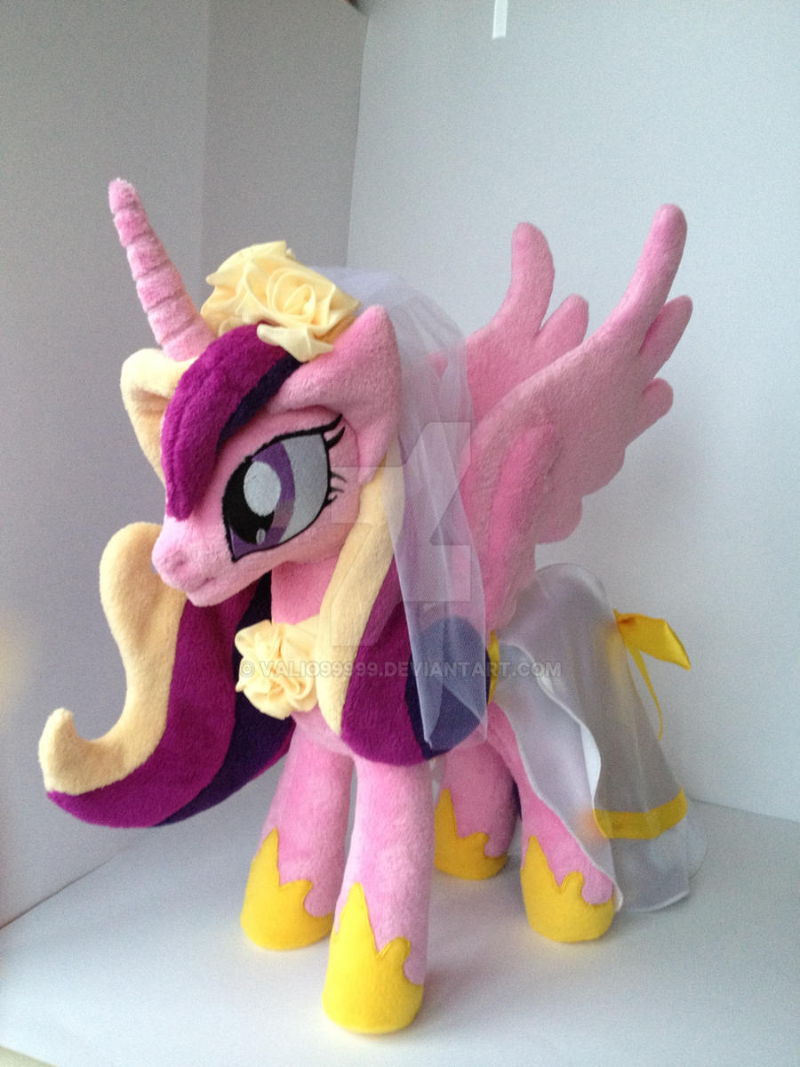 My little pony princess cadence plush by valio99999 on - My little pony cadence ...