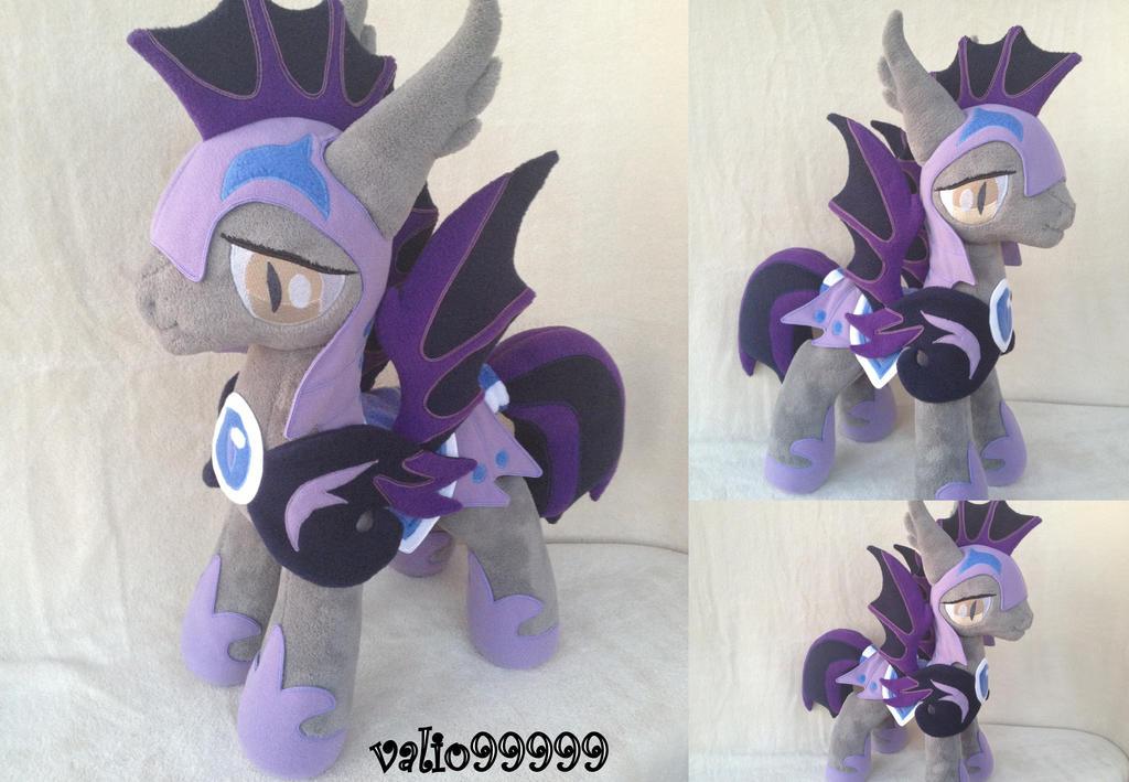 Princess Luna's Guard Plush handmade MLP by valio99999