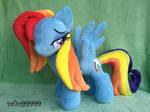 MLP Friendship is Magic Raibow Dash hanmade plush